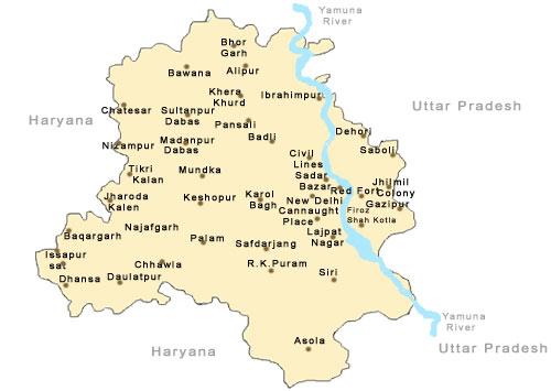 Maps Of Delhi Delhi Map Tourist Maps Of Delhi Delhi City Map Map