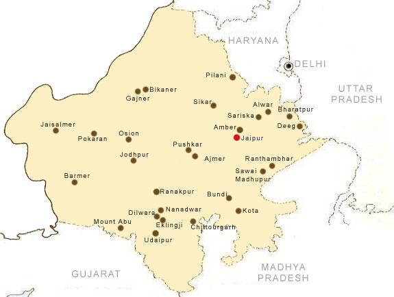 Cartina Rajasthan India.Maps Of Rajasthan Rajasthan Map Tourist Maps Of Rajasthan Rajasthan City Map Map Rajasthan Maps Of India